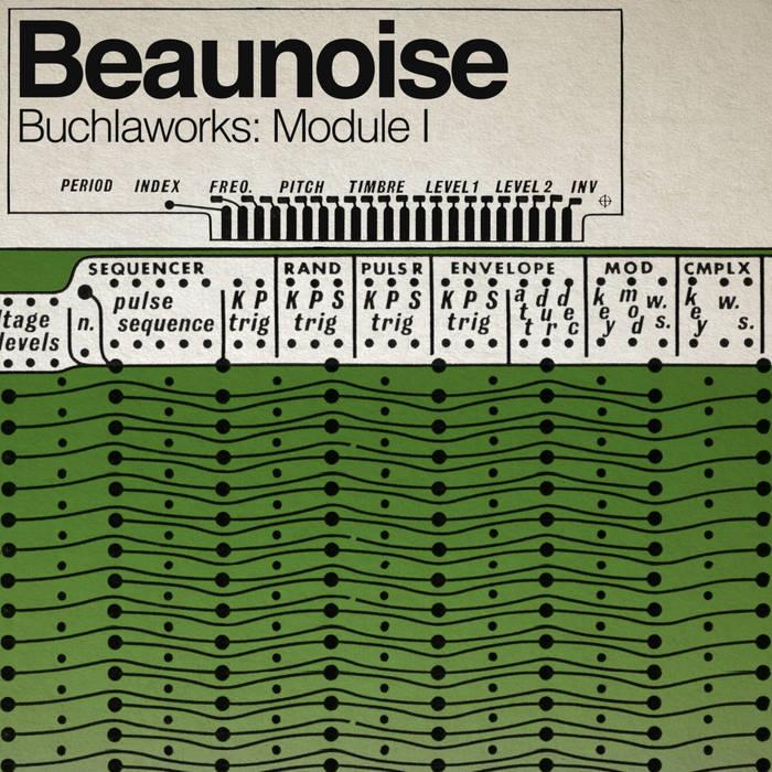 Buchlaworks: Module I cover art