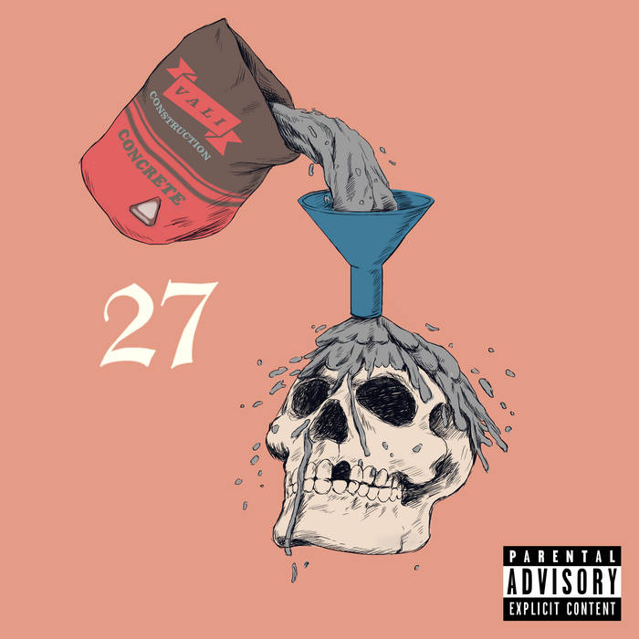 YOUNG 27 EP cover art