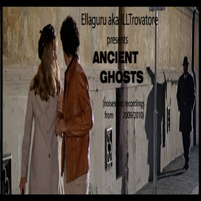 Ancient Ghosts e.p. cover art