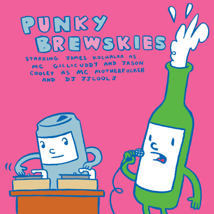 Punky Brewskies cover art