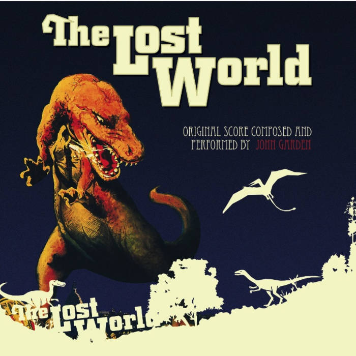The Lost World - Live at The Natural History Museum cover art
