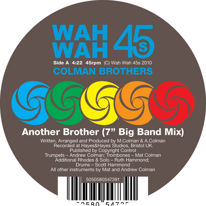 """Another Brother 7"""" single cover art"""