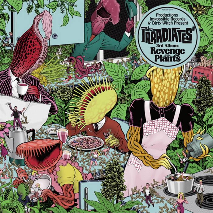 REVENGE OF THE PLANTS cover art