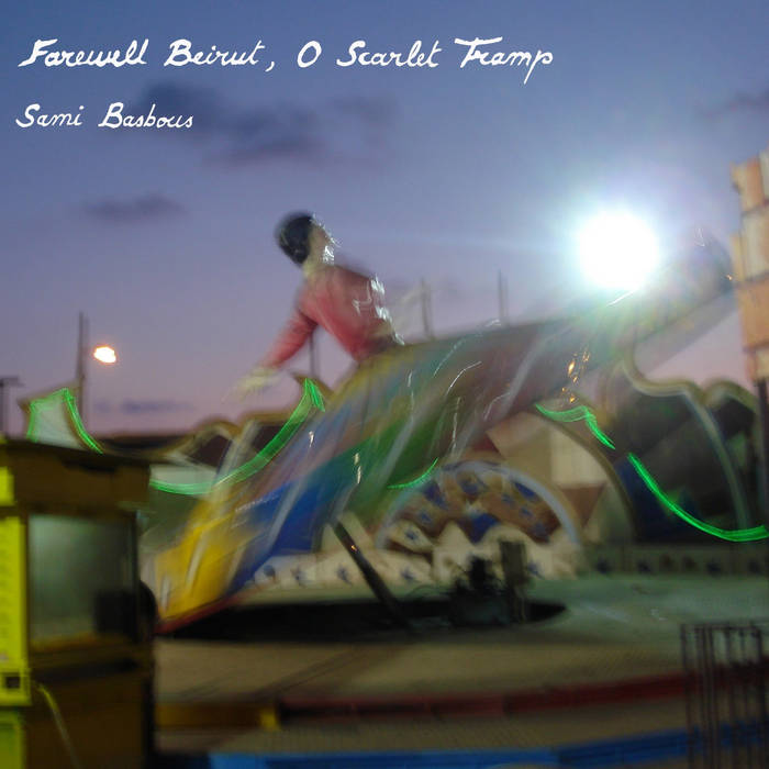 Farewell Beirut, O Scarlet Tramp cover art