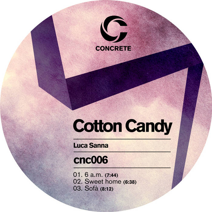 Cotton candy cover art