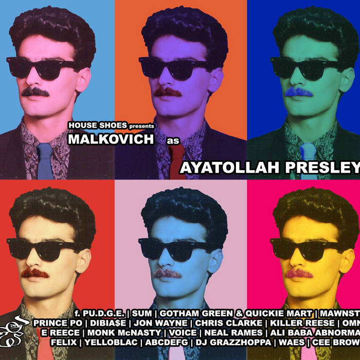AYATOLLAH PRESLEY | mixed by DJ House Shoes cover art