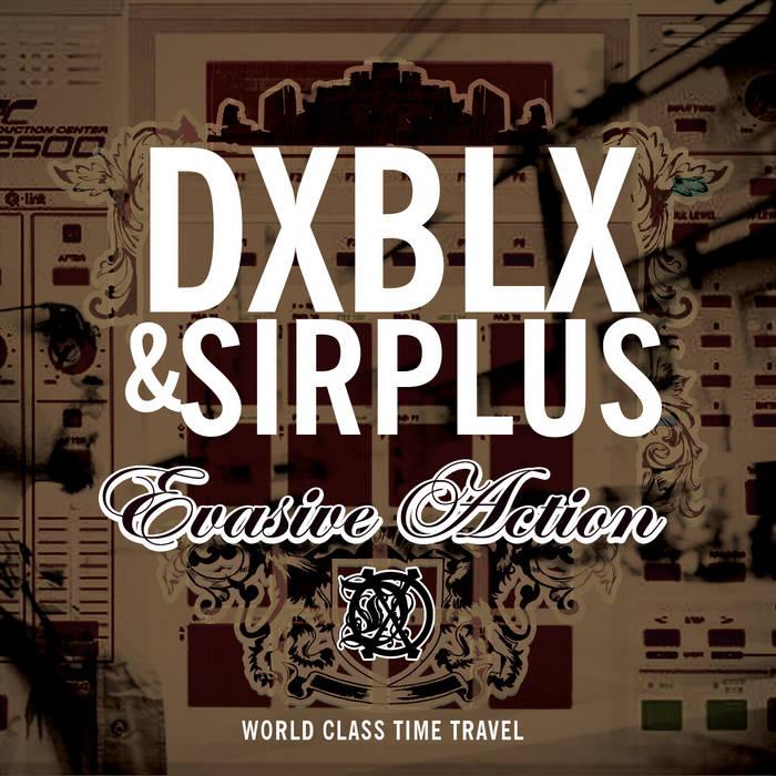 DXBLX & SIRPLUS - EVASIVE ACTION (SINGLE) cover art