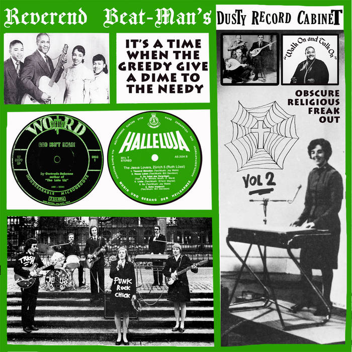 MJCR012 - Reverend Beatman's Dusty Cabinet vol.2 cover art