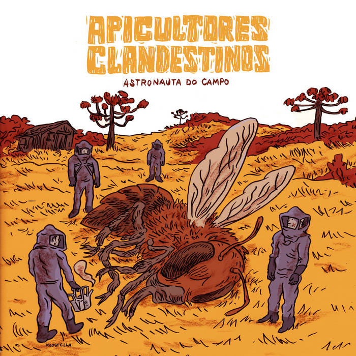 Astronauta do Campo cover art