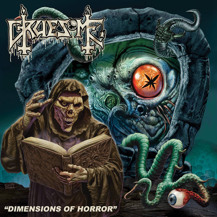 Dimensions of Horror cover art
