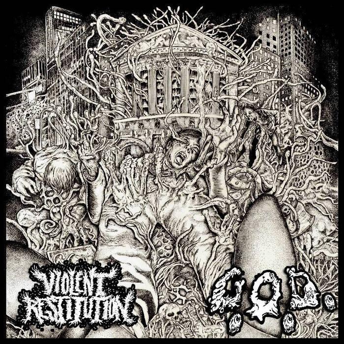 """Split 7"""" w/ G.O.D. cover art"""