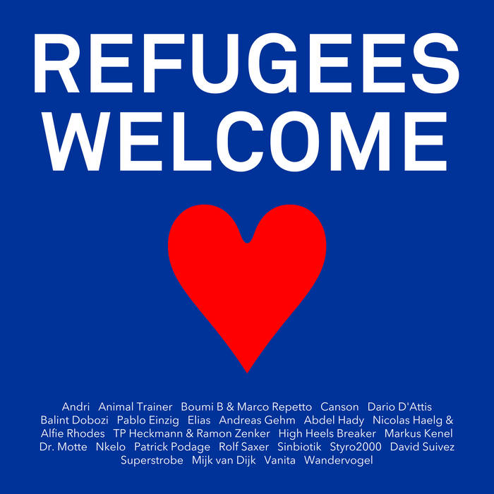 Refugees Welcome cover art