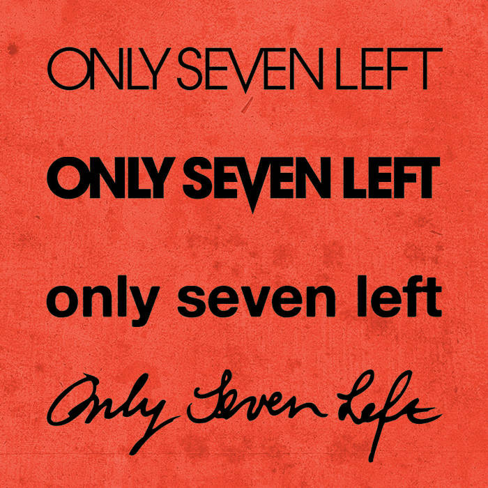 Only Seven Leftovers cover art