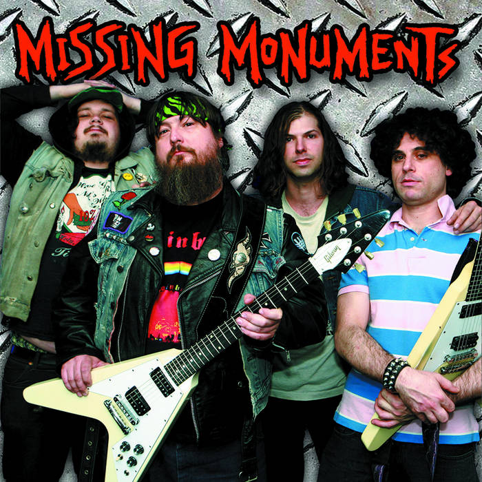 Missing Monuments - s/t cover art
