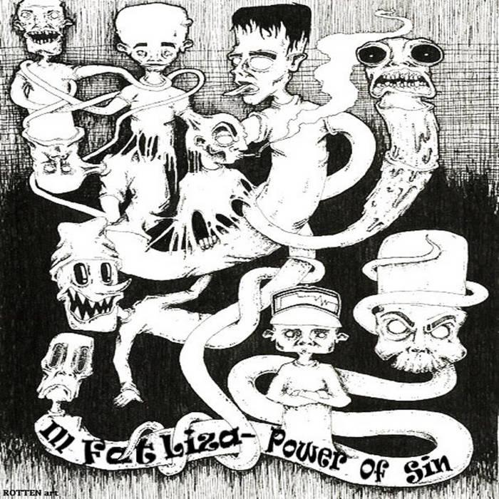 [HVZ031] Ill Fat Liza - The Power Of Sin cover art