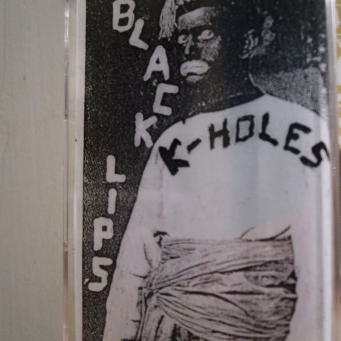 K-Holes | Black Lips Split Tape cover art