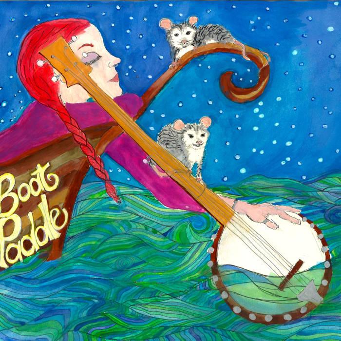 Boatpaddle cover art