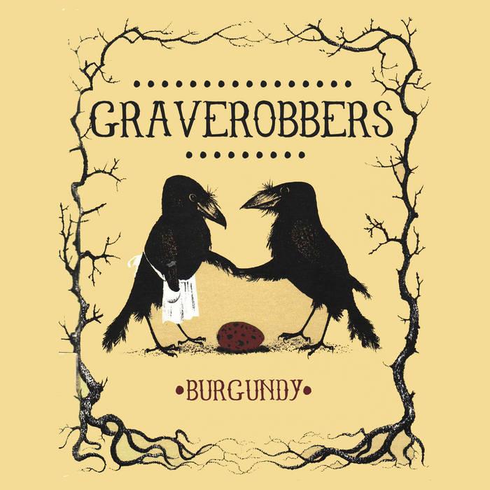 Burgundy cover art