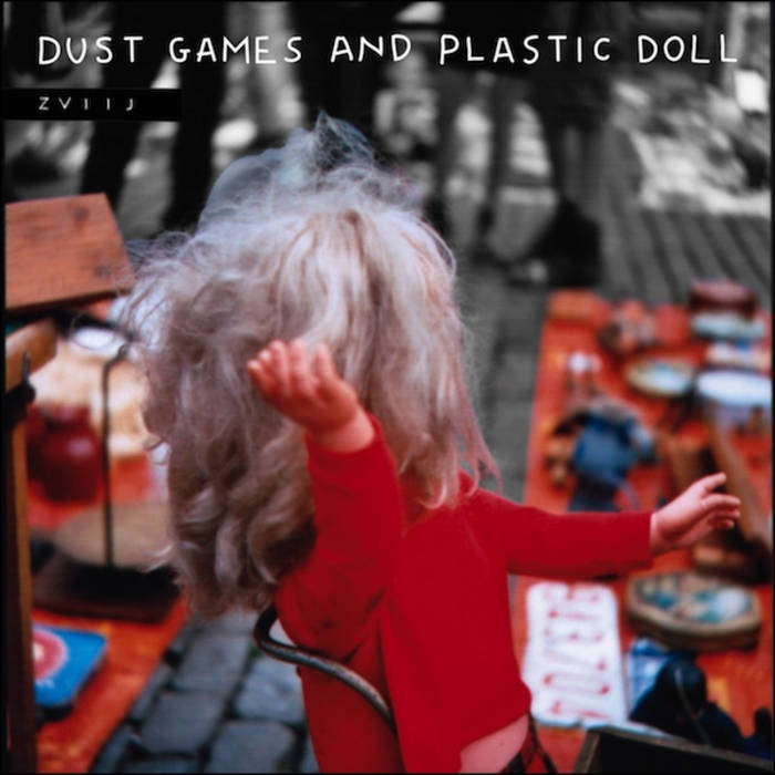 Dust games and plastic doll cover art