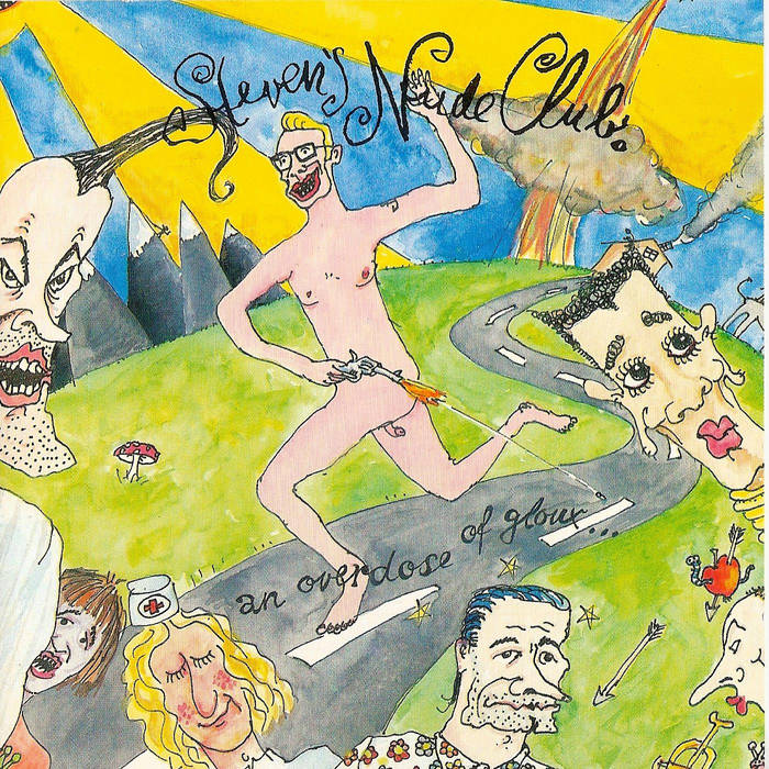 STEVENS NUDE CLUB - An Overdose Of Gloux ... cover art