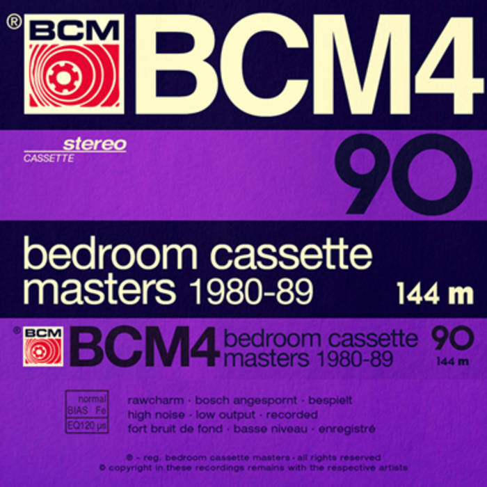 Bedroom Cassette Masters 1980-89 Volume Four cover art