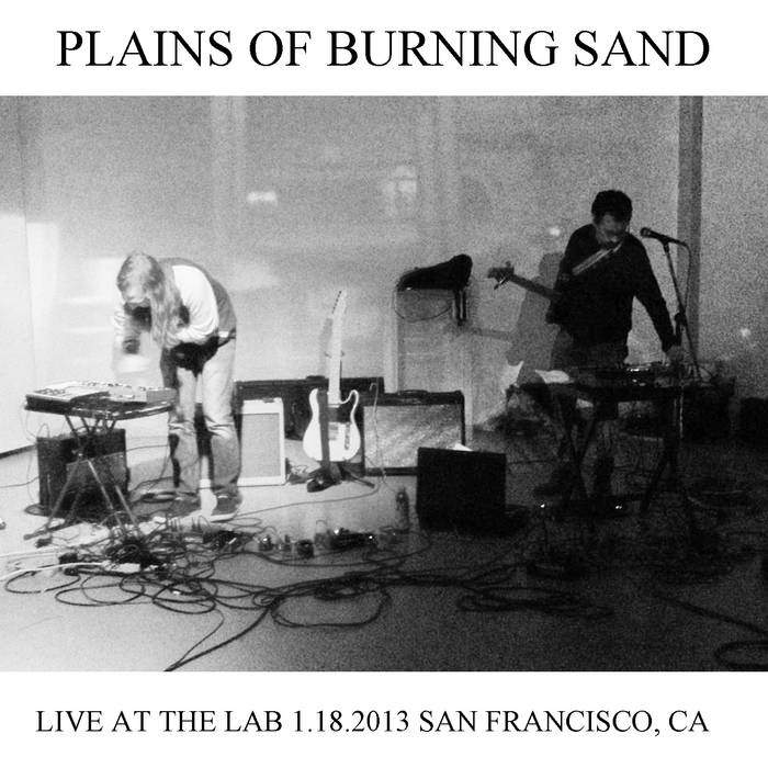 Live at the Lab 1.18.2013 cover art