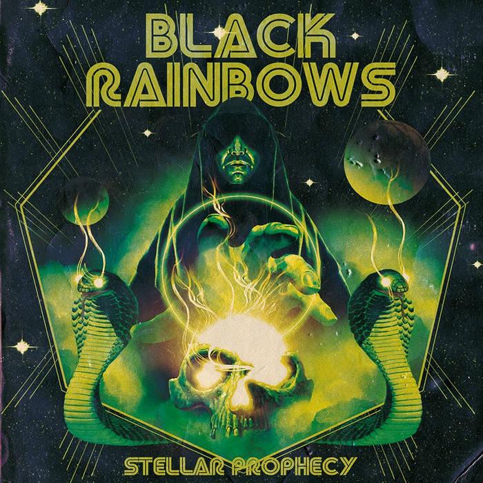 BLACK RAINBOWS - STELLAR PROPHECY cover art