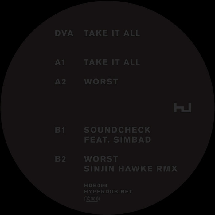DVA: Take It All (HDB099) cover art