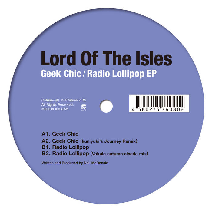 Lord Of The Isles - Geek Chic / Radio Lollipop EP cover art