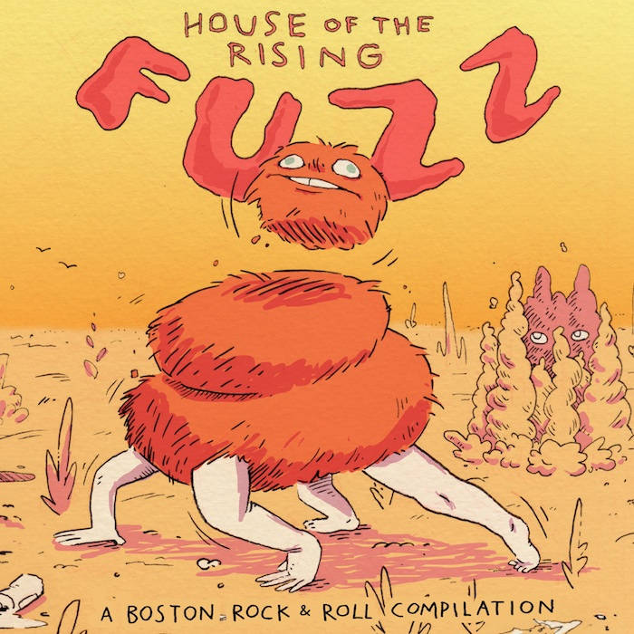 House of the Rising Fuzz: a boston rock'n'roll compilation cover art