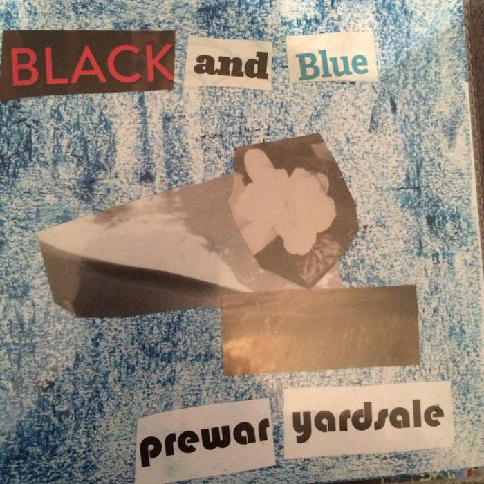 black and blue cover art