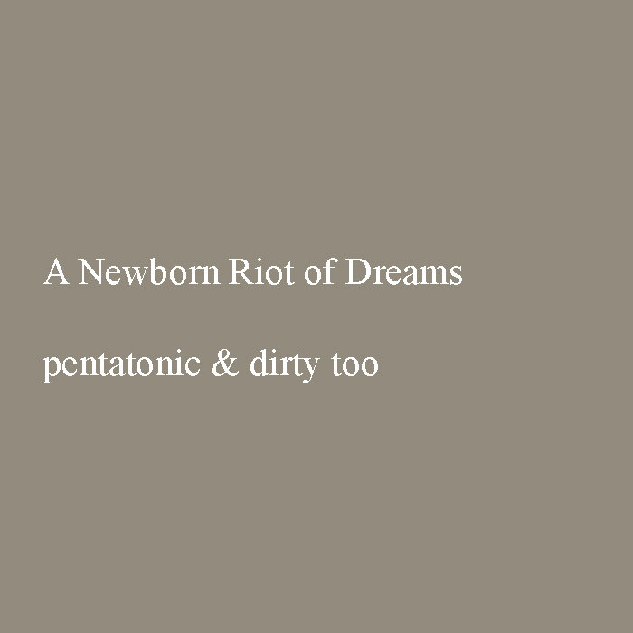 pentatonic & dirty too cover art