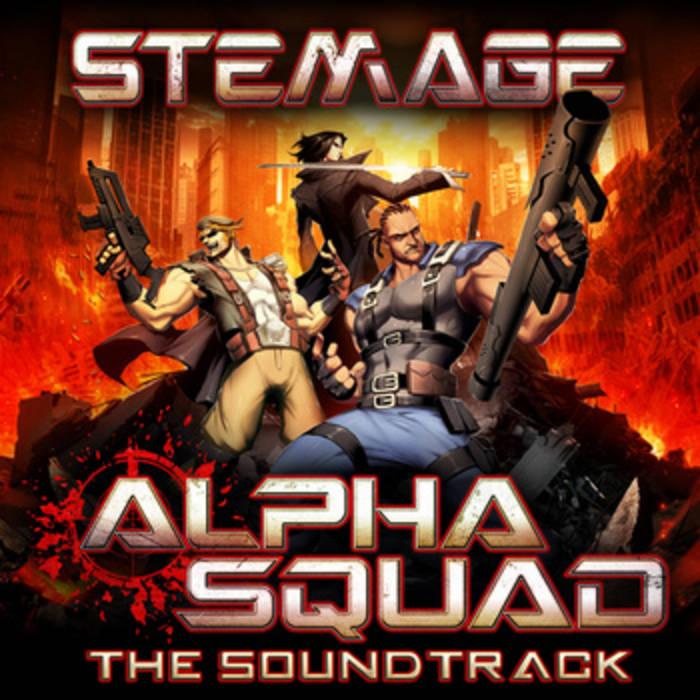 Alpha Squad Soundtrack cover art