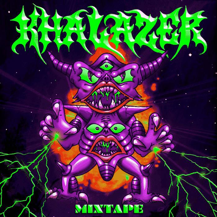 Khalazer Mixtape 2011 cover art