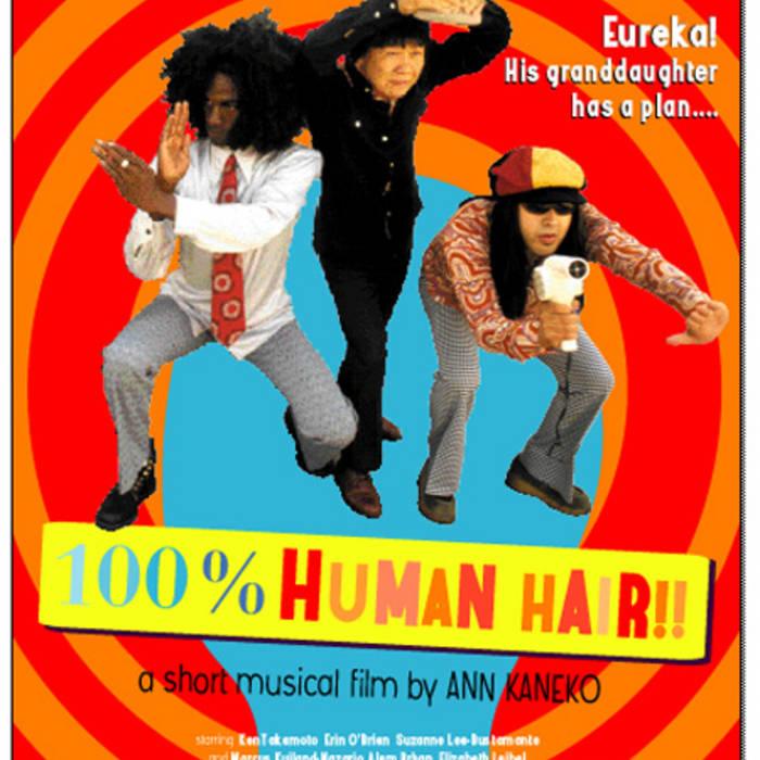 100% Human Hair cover art