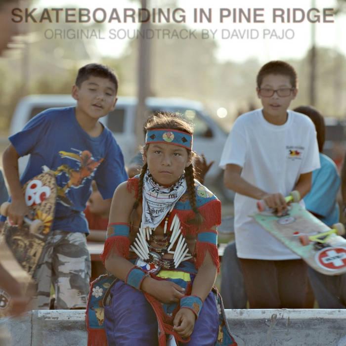 Skateboarding In Pine Ridge cover art