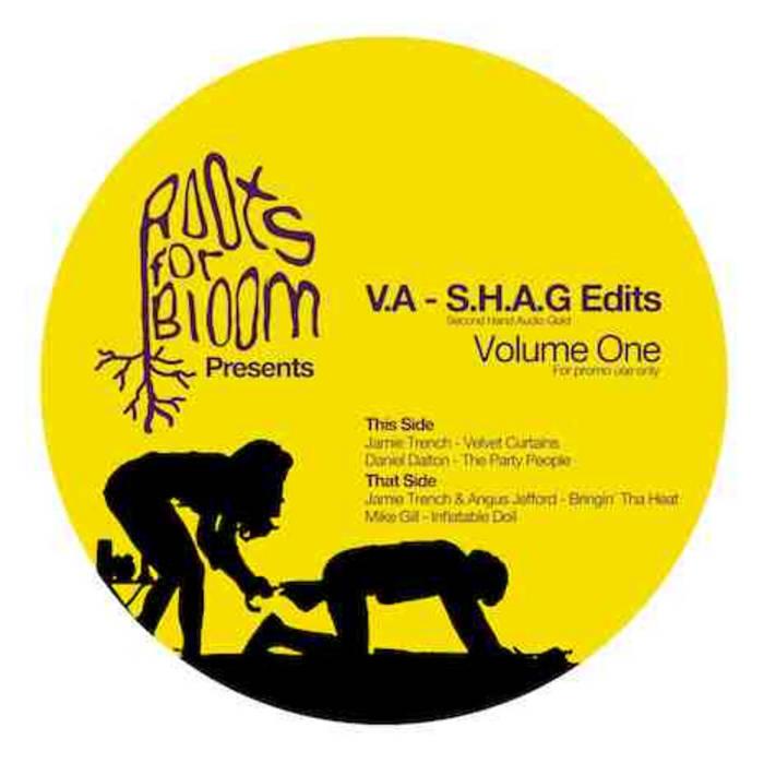 RFBR003 - Various Artists - SHAG Edits Vol 1 cover art