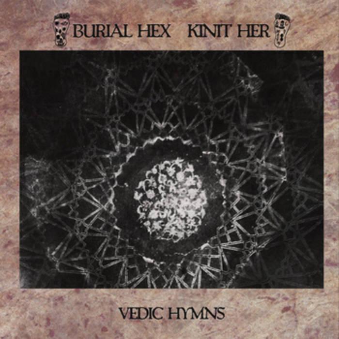 Vedic Hymns (split LP w/ Kinit Her) cover art