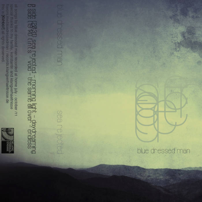 KVH007. Blue Dresed Man - Sea Rejected cover art