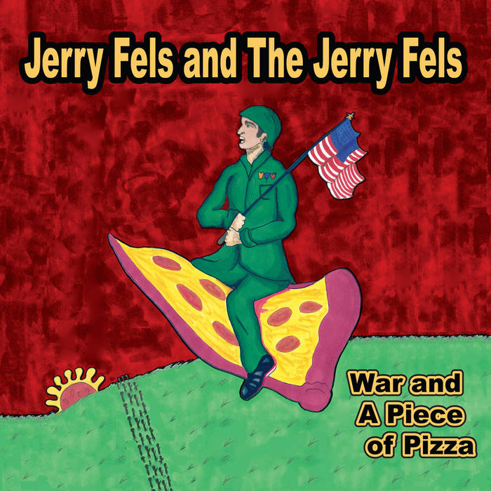 War and A Piece of Pizza cover art