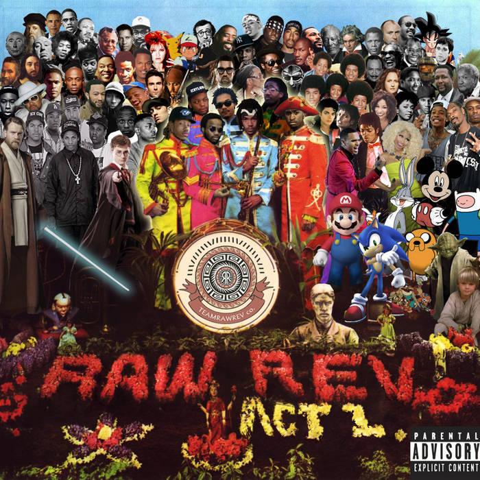 RAWREV ACT I cover art