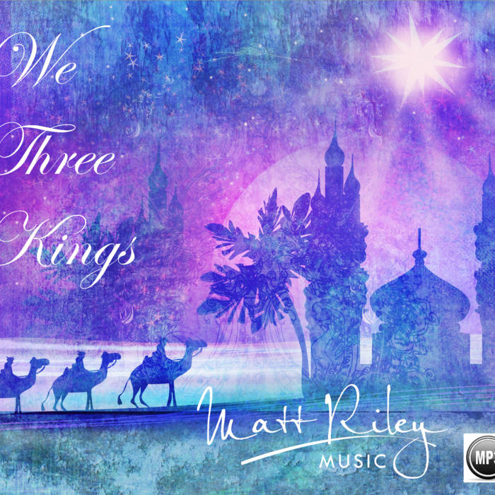 We Three Kings - Violin Sheet Music & Accompaniment Track cover art