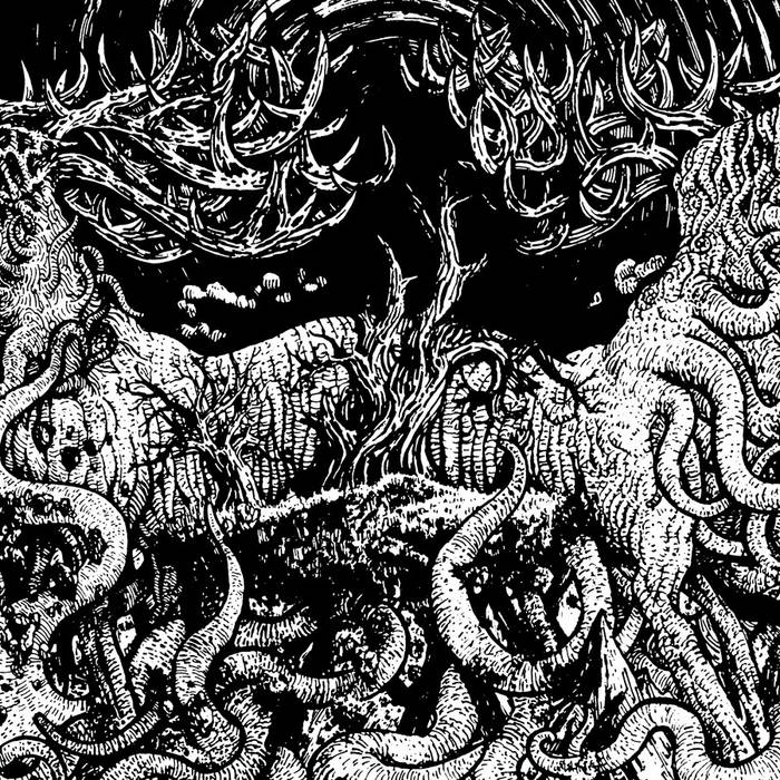 Cyanic/Infinite Waste 2015 Split cover art