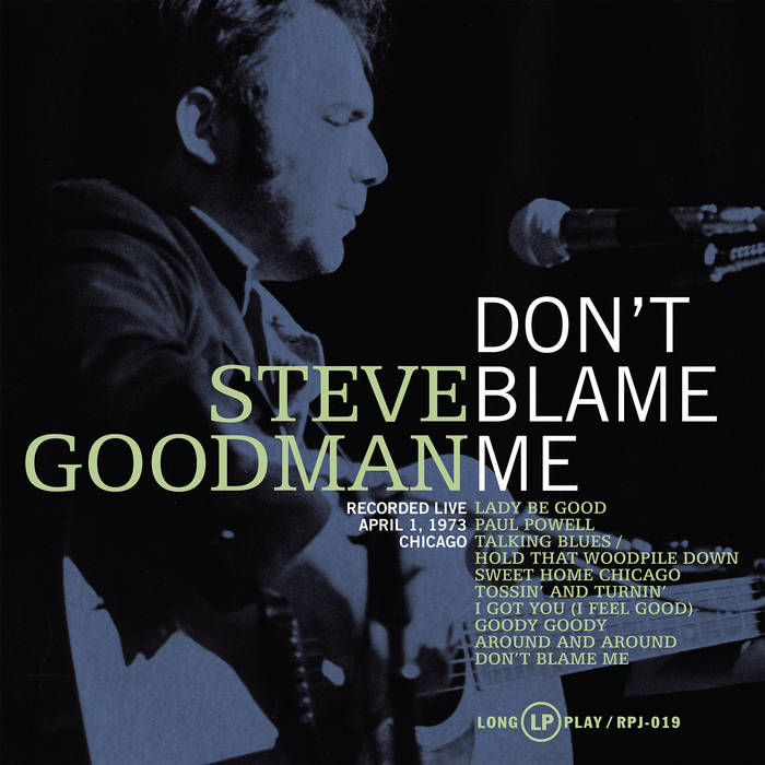 Don't Blame Me cover art