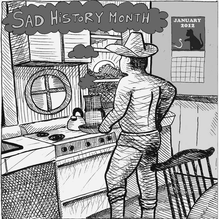 Sad History Month cover art