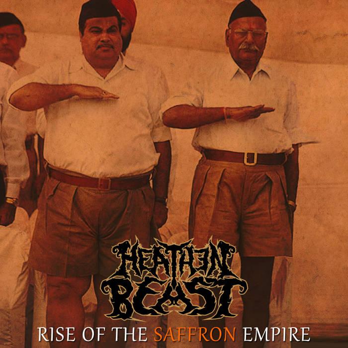 Rise Of The Saffron Empire cover art