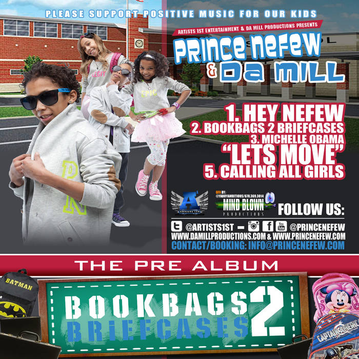 Bookbags 2 Briefcases cover art