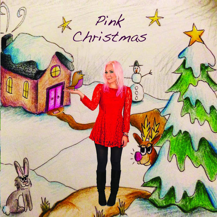 Pink Christmas cover art