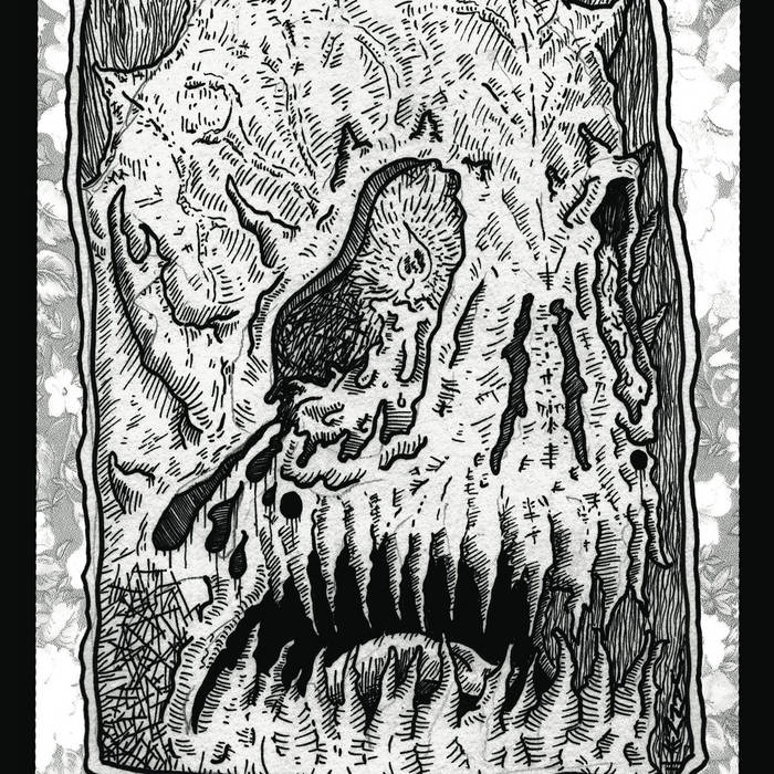 Lithotome / Moros split cover art