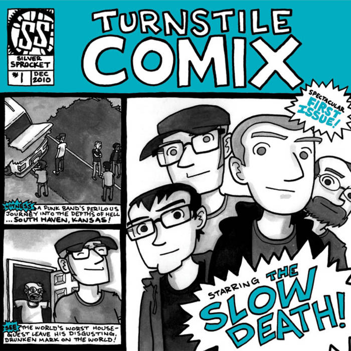 Turnstile Comix #1 cover art